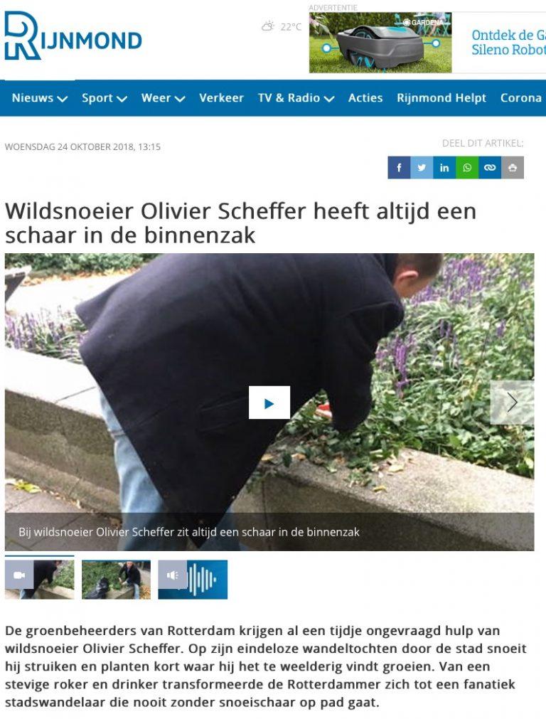 Wildsnoeier :: Rijnmond filmpje