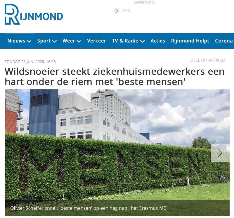 Rijnmond : Beste Mensen,