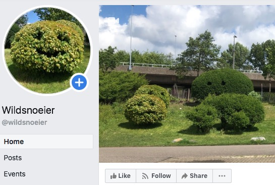 Wildsnoeier Facebook pagina!